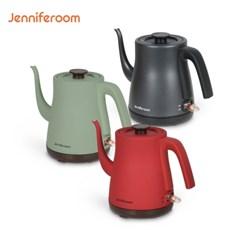 제니퍼룸 커피드립 전기포트 올리브,레드,차콜