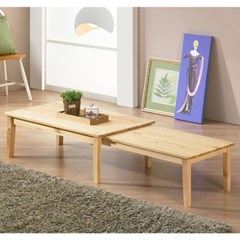 [잉카]모던 확장형 원목 거실 테이블 1000