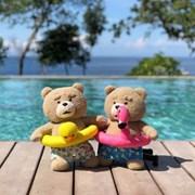19곰 테드 여름한정 오리튜브 테드 30CM_(906107)