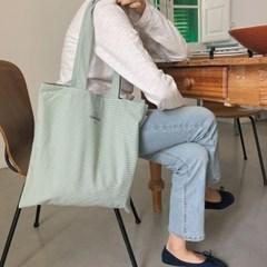 green check bag ( hand made )