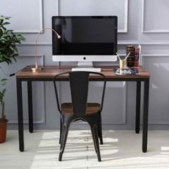 휘게 월넛 스틸 책상/테이블
