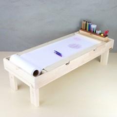 수납형 블록테이블 / 유아책상 (접이식)