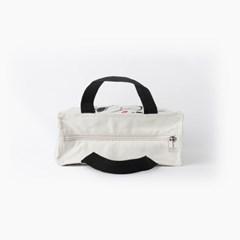 스누피 스퀘어 보냉 도시락 가방 (양면)