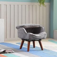 레이지다이어리 어린이 의자 1인용 패브릭 회전 001 프린스