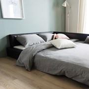 [라곰하우스] 레스트 저상형 침대 퀸