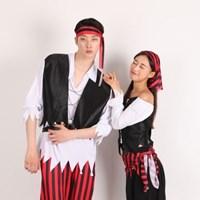 할로윈 커플의상세트-해적