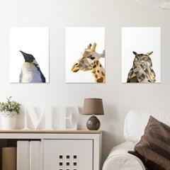 폴리곤 동물 시리즈 10종 _ A4,A3,A2 포스터