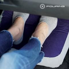 에어컴포트 기본형 발쿠션 카시트 발매트 발받침대 다리베개