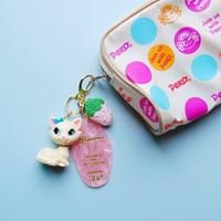 토이 키링-핑크 리조트키(바닐라캣)