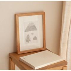 Alder Wood Frame - Small (공액자)