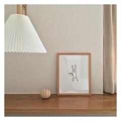 Alder Wood Frame - Medium (공액자)