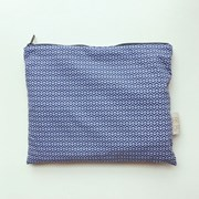 line and line pouch LARGE BLUE