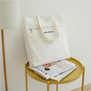DOUBLE SIDED SHOULDER BAG_WHITE