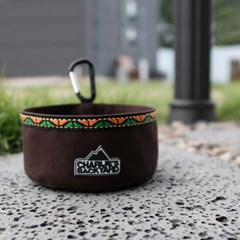 OUTDOOR FOOD BOWL / BROWN