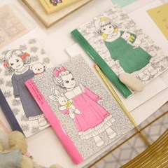 Risography Note A5paperdoll mate _julie