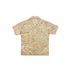 [Matt And Mel x M.Nii] Hand Dyed Aloha Shirts_Beige