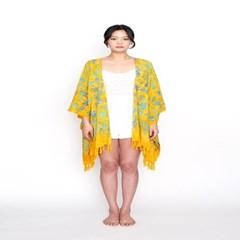 [Fringe Robe] Balibloom - Yellow