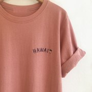 HAwaii Cotton T-Shirt (4-color)