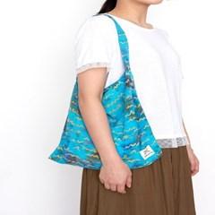 [Eco Bag] Wave - Pastel Blue