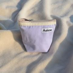 Aeiou Basic Pouch / very light purple