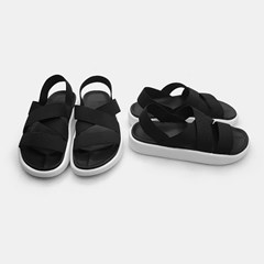 XO elastic band sandals