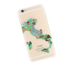 Map of Italy (JE-026A) Jelly  Case