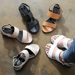 kami et muse Chunky middle heel strap sandals_KM18s364