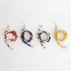 P6832 비즈 스트링 초커 목걸이(4color)