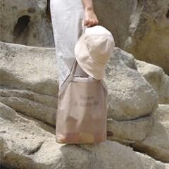 sunset mesh bag - 썬셋 메쉬 백 (베이지)