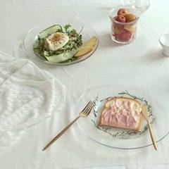 심플 라인 유리볼: 샐러드볼,파스타접시,카페그릇