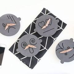 런메이크 페이스 무소음 탁상시계 12종 초특가-벽걸이 겸용