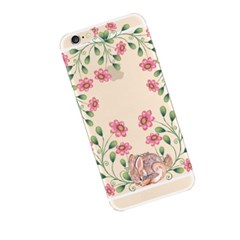 Rabbit in Flower (JA-015B) Jelly Case