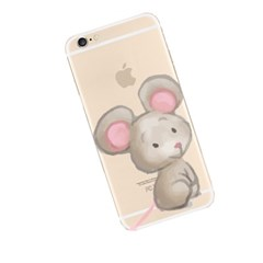 Watercolor Mouse (JA-014B) Jelly Case