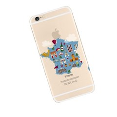 Map of France (JE-029A) Jelly Case