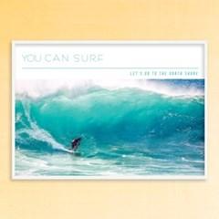 You can surf - A2,A3,A4 인테리어 메탈액자