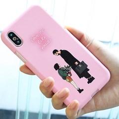 [Trycozy]네온아저씨와소녀 소프트 케이스(LG폰)