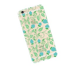 Blue Flower (JF-039B) Jelly Case