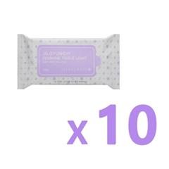 [질경이] 페미닌 티슈 라이트(10매입) X10