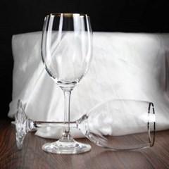 웨딩데이 골드 포인트 와인잔 1개