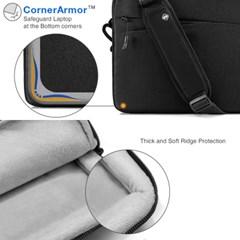 A45 맥북 노트북 가방 15인치-15.6인치 블랙