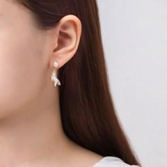 유니콘 별 무지개 귀걸이
