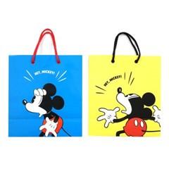 디즈니 미키 비비드 쇼핑백(S)