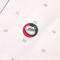 스튜디오두근 딸기케이크 스티커 세트