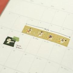 Masking tape single - 131 Play farmer