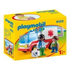 플레이모빌 1.2.3 구급차(9122)