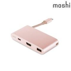 모쉬 USB-C 멀티포트 어댑터_골든로즈