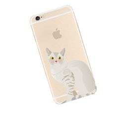 Chic Cat (JA-019A) Jelly Case