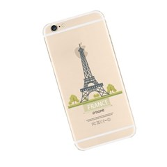 Effiel Tower in France (JE-035A) Jelly Case