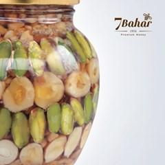 [7bahar] 허니넛츠 450g 선물포장 벌꿀 견과류 터키산 잼 간식