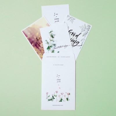 아트 포스트 카드 세트 굿모닝_(1586922)